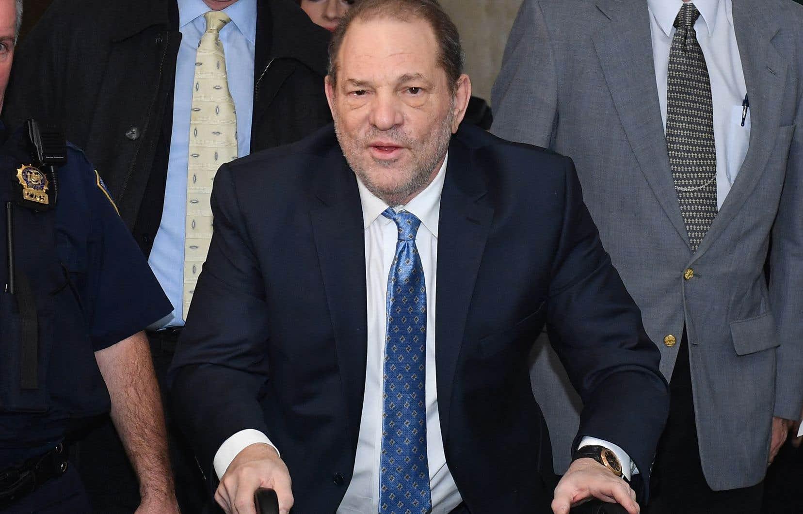 Harvey Weinstein encourt jusqu'à 140ans de prison, en plus de sa condamnation new-yorkaise.