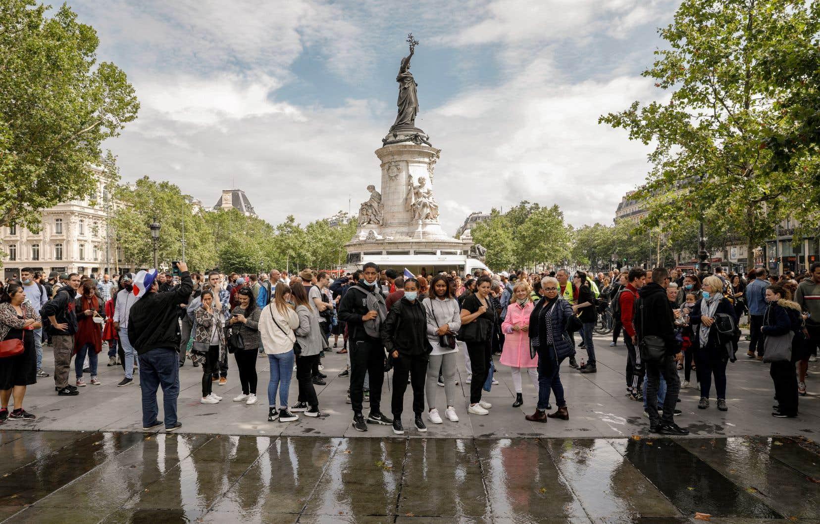 En France, le nombre de nouveaux cas a grimpé à 18999 sur 24heures, une hausse «jamais vue».