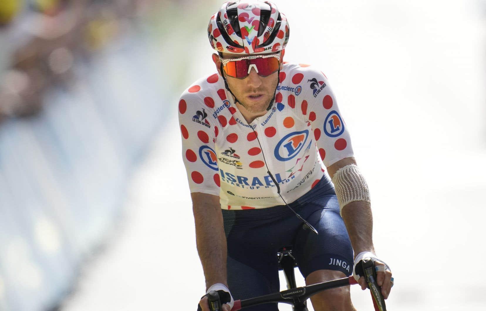 Avant même d'entamer le Tour de France, Michael Woods avait prévu la possibilité de devoir abandonner pour arriver plus tôt à Tokyo, si la course ne se déroulait pas comme il l'avait souhaité.