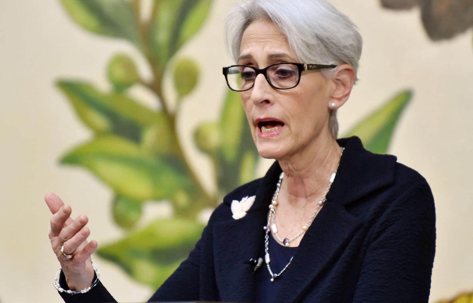 La vice-secrétaire d'État Wendy Sherman, déjà en pleine tournée asiatique, ira dimanche et lundi dans la ville de Tianjin, dans le nord de la Chine.