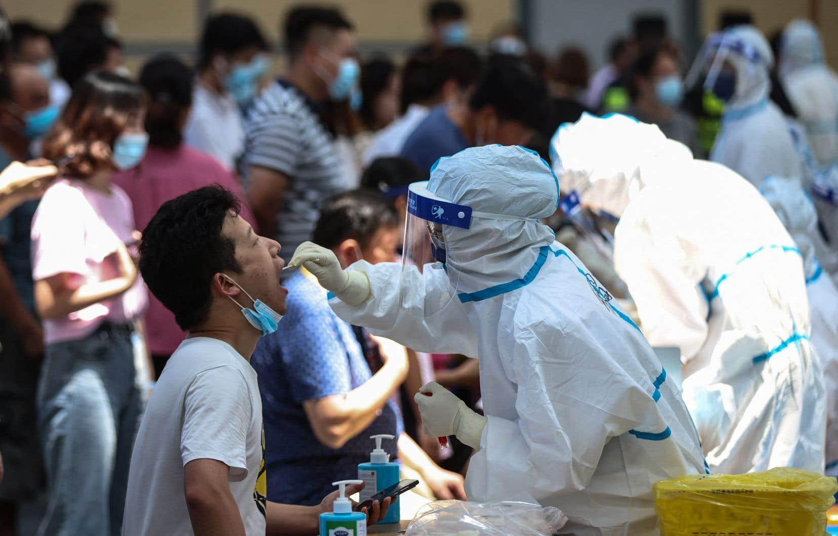 La Chine fait partie des pays où le variant Delta est la cause de plus de 75% des nouveaux cas de cette maladie.