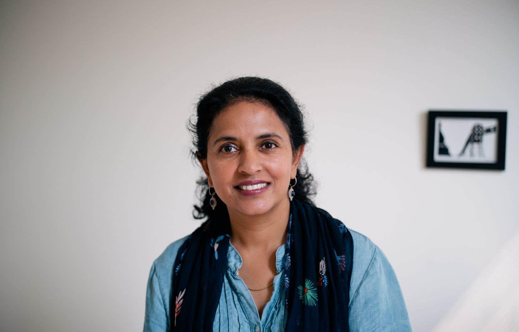 La directrice générale de Microcrédit Montréal, Indu Krishnamurthy, veut aider à l'intégration des immigrants au Québec.