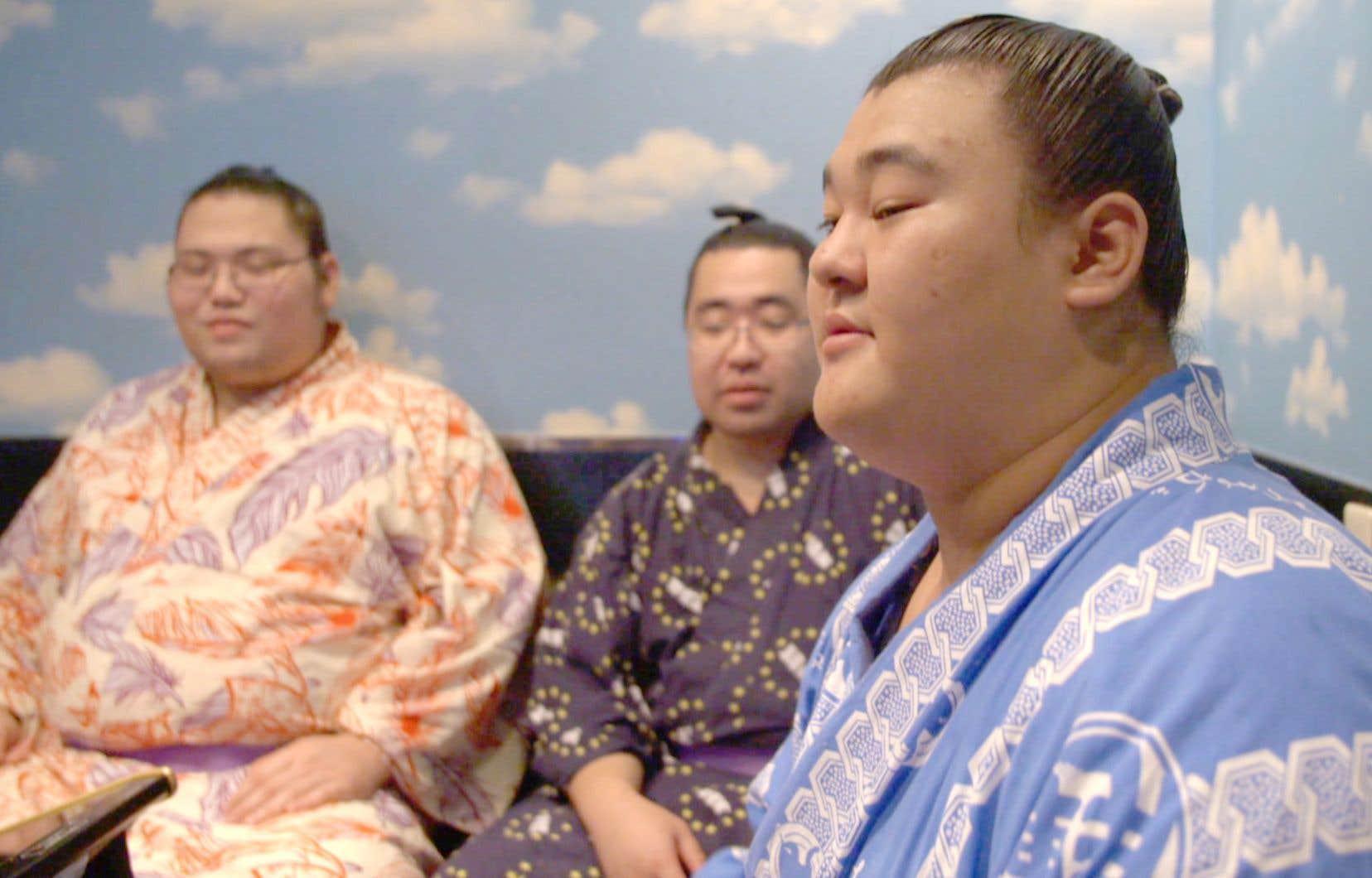 Scène tirée du documentaire «Japon. Dans le monde ultra-secret des sumos»