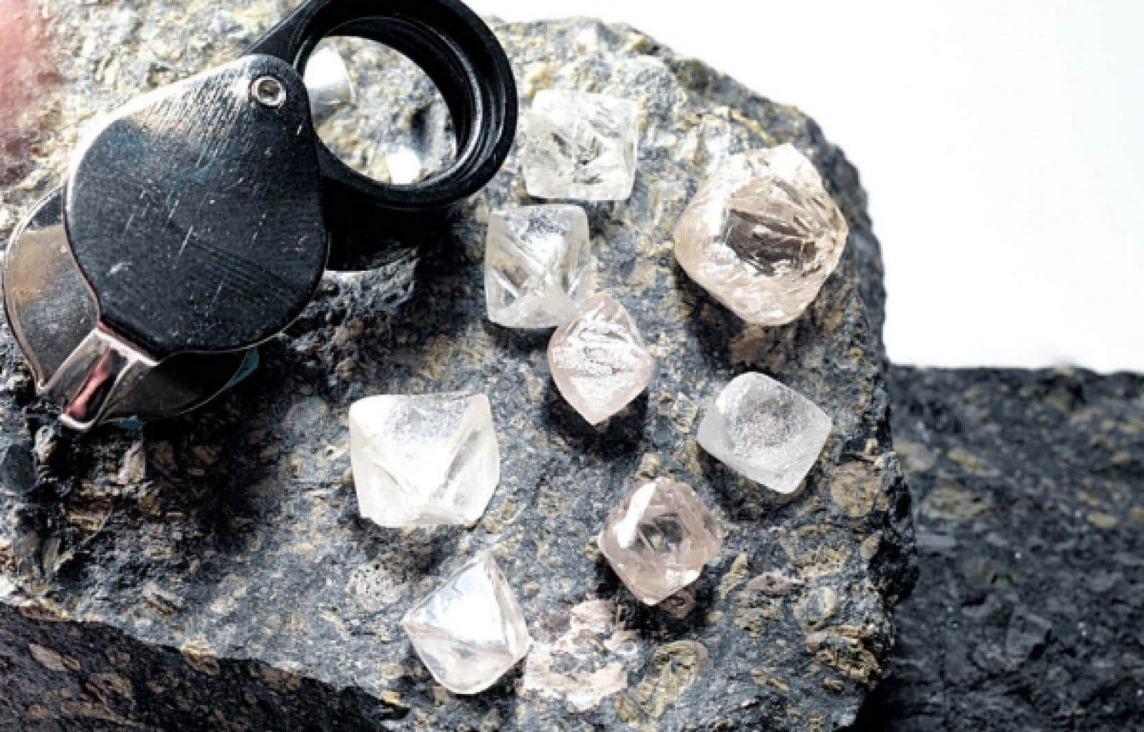 Les actionnaires de Stornoway Diamond Corporation, par exemple, ont de quoi se réjouir de l'annonce du prolongement de la route 167, qui ouvre la voie à l'exploitation de la première mine de diamants au Québec.