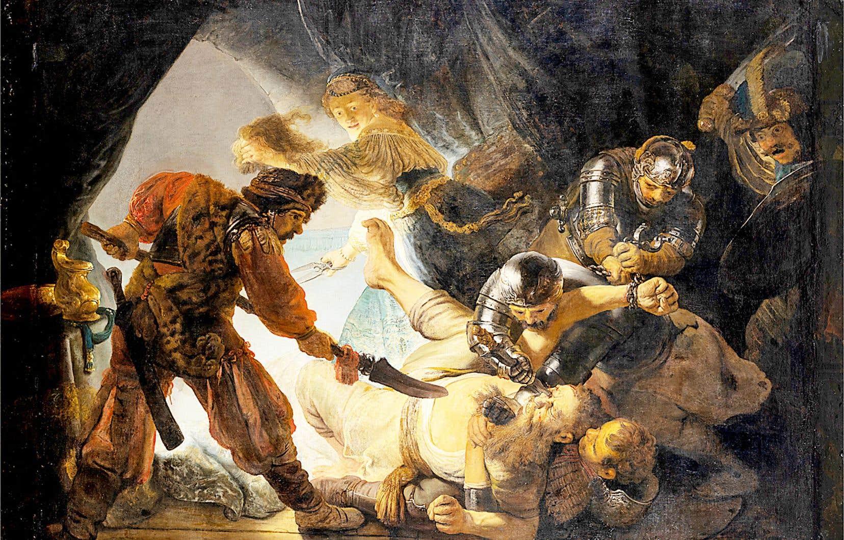 Rembrandt van Rijn, «L'aveuglement de Samson», 1636