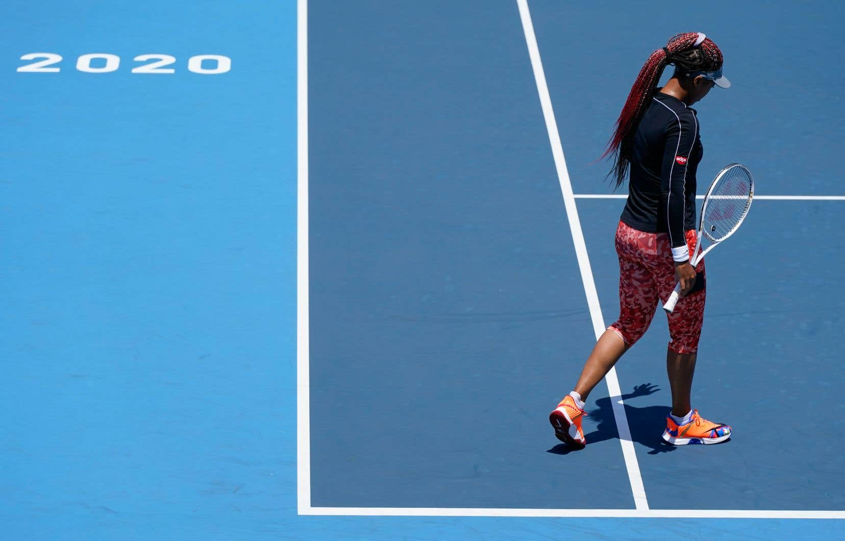 La joueuse de tennis Naomi Osaka