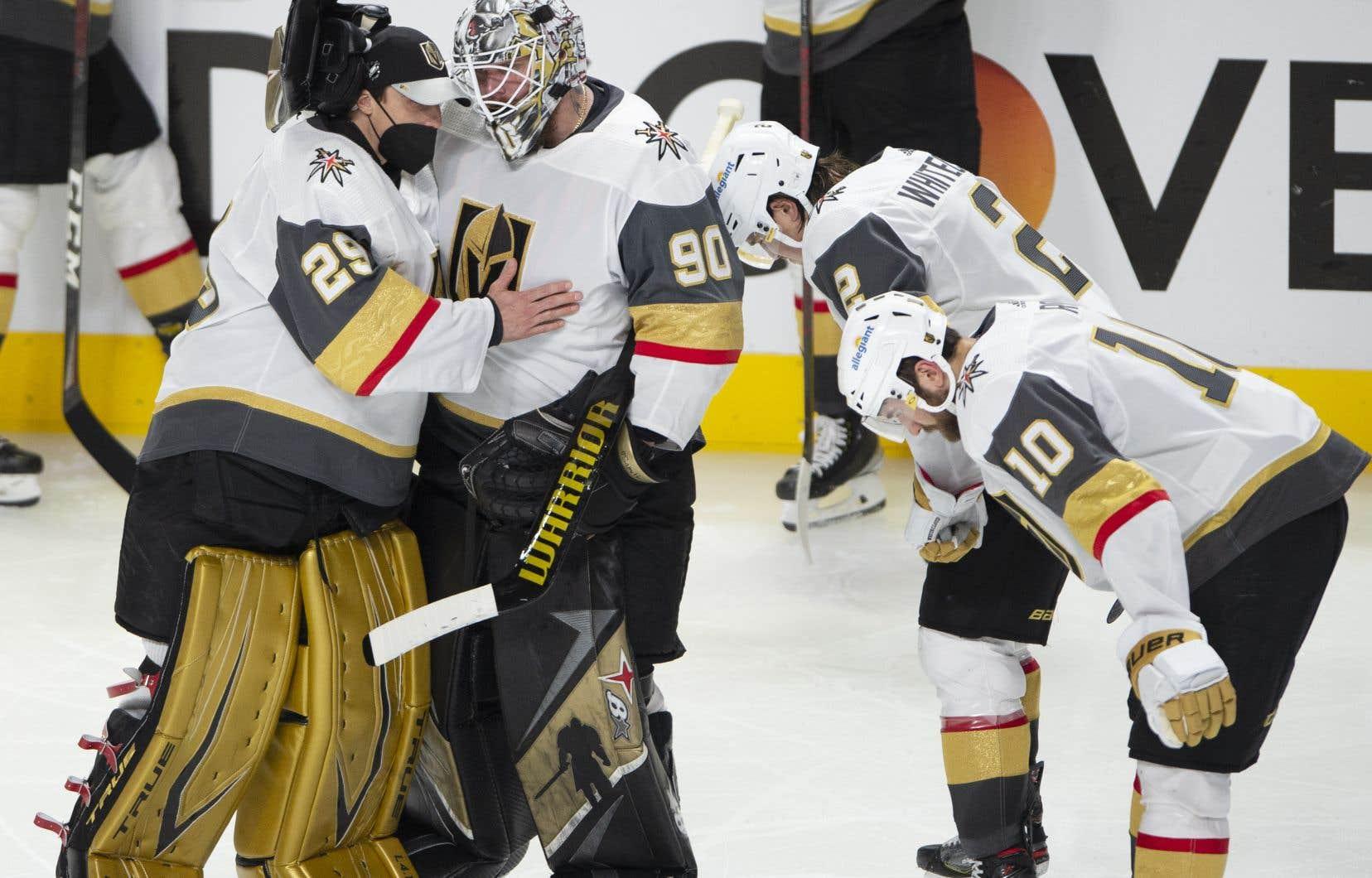 Les Golden Knights de Vegas ont échangé Marc-André Fleury aux Blackhawks de Chicago mardi.