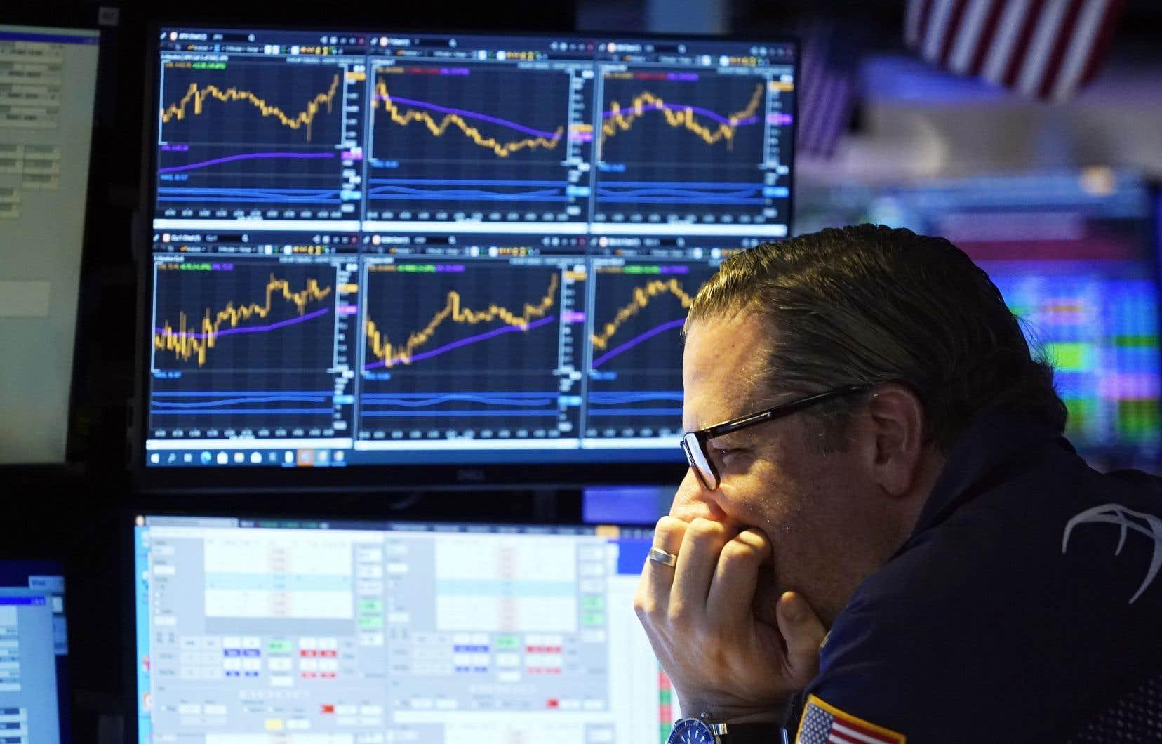 Comme souvent dans le passé, ce sont les sociétés technologiques cotées à la Bourse de New York qui mènent cette tendance.