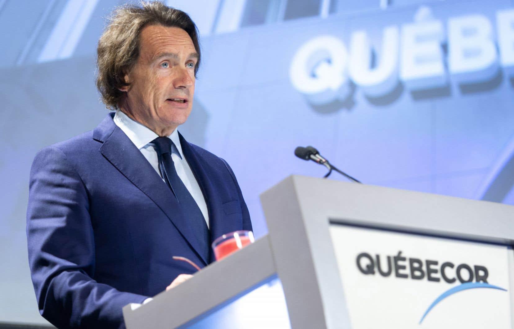 Québecor sort grand gagnant des enchères de fréquences de télécommunication sans fil