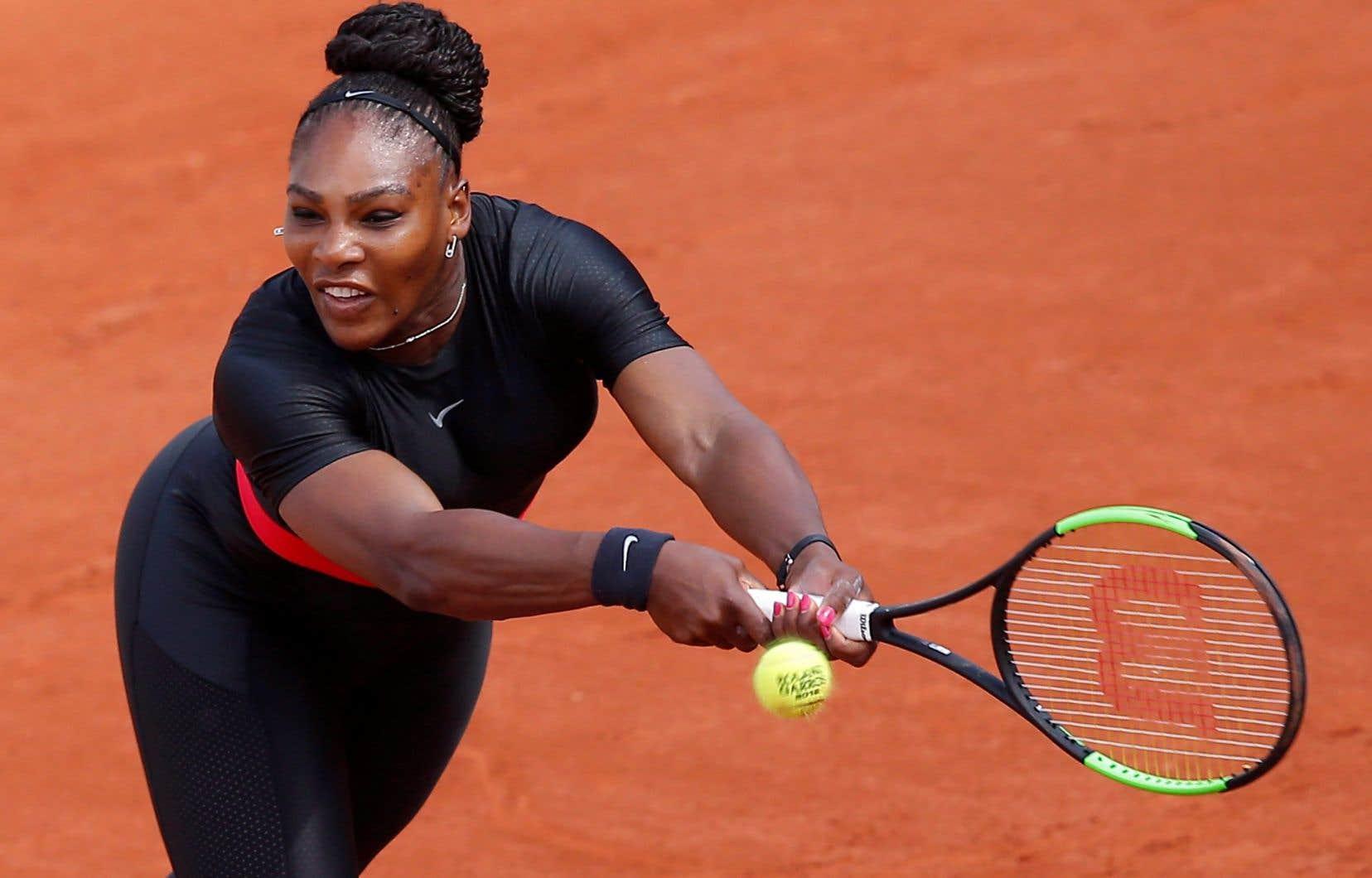 En 2018, le président de la Fédération française de tennis avait annoncé que la combinaison portée par Serena Williams lors du tournoi de Roland-Garros ne serait plus acceptée.