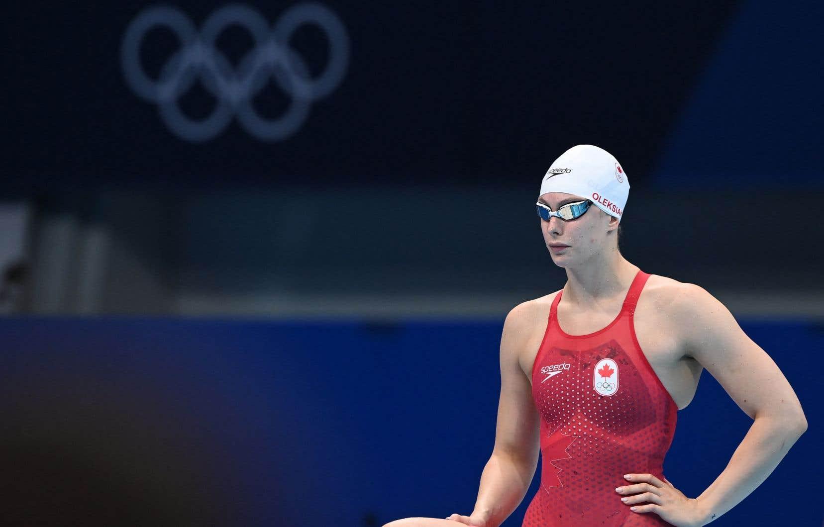 La nageuse Penny Oleksiak fait l'histoire