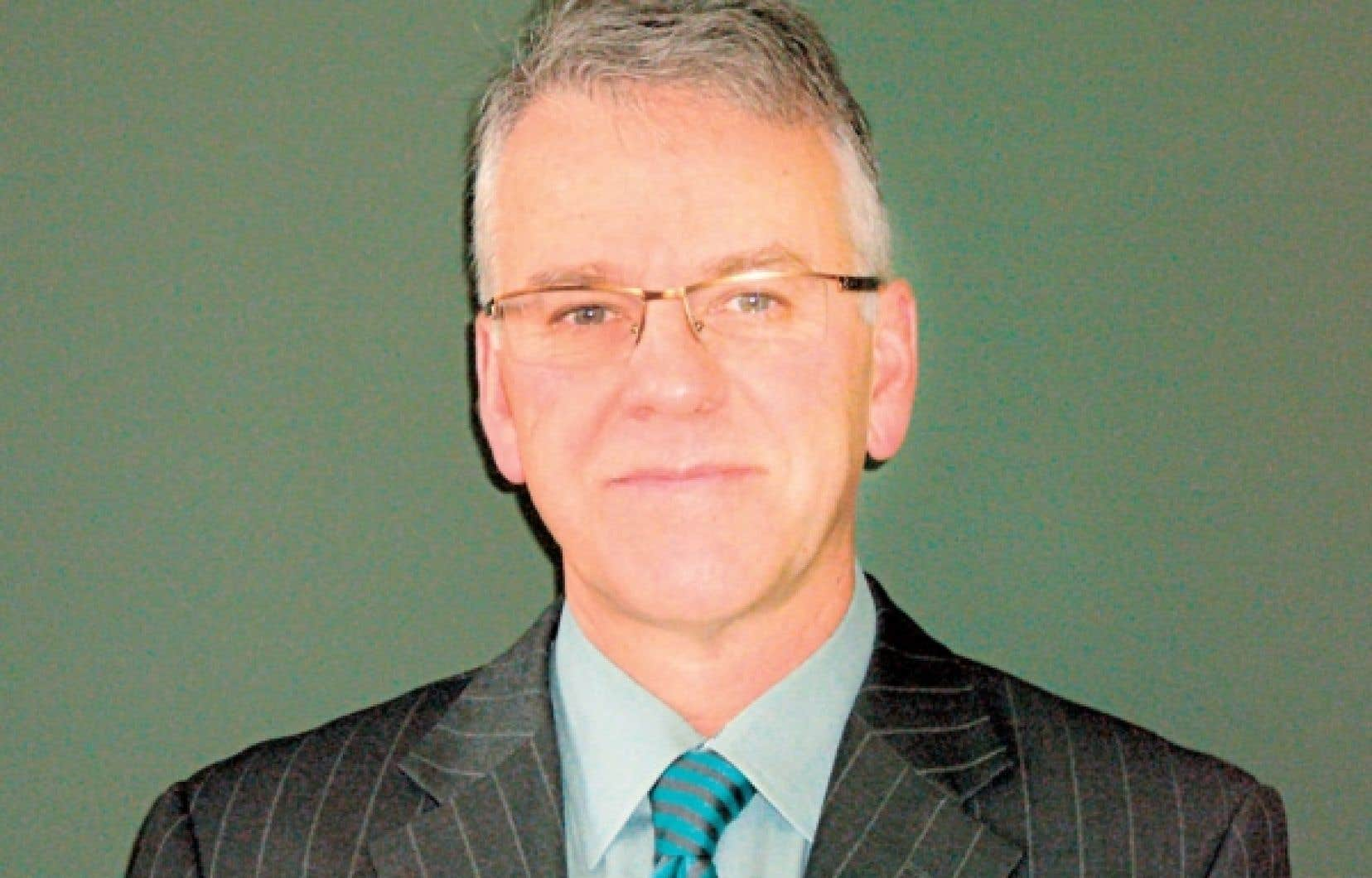 Jean Beauchesne, président et directeur général de la Fédération des cégeps<br />