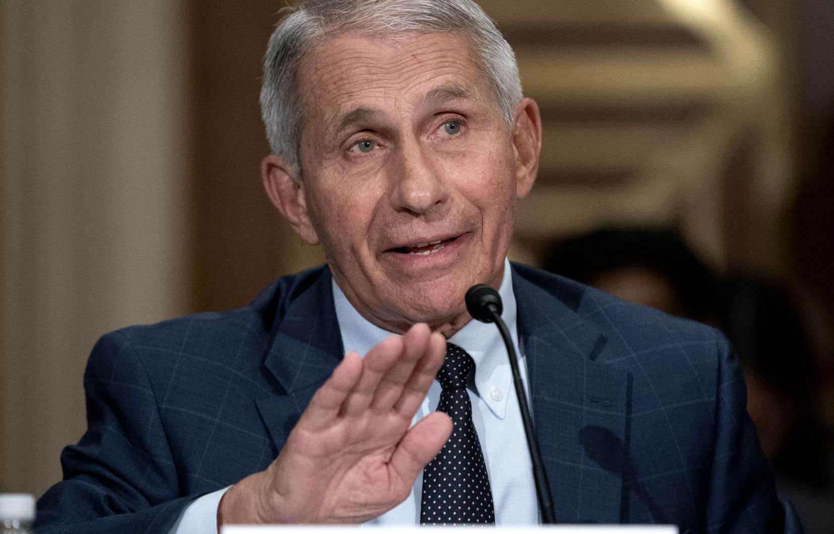 Le conseiller de la Maison-Blanche sur la crise sanitaire, Anthony Fauci