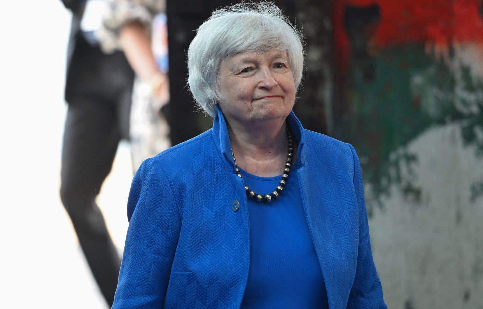 «J'exhorte respectueusement le Congrès à protéger la pleine confiance et la crédibilité des États-Unis en agissant dès que possible», a prié Janet Yellen.