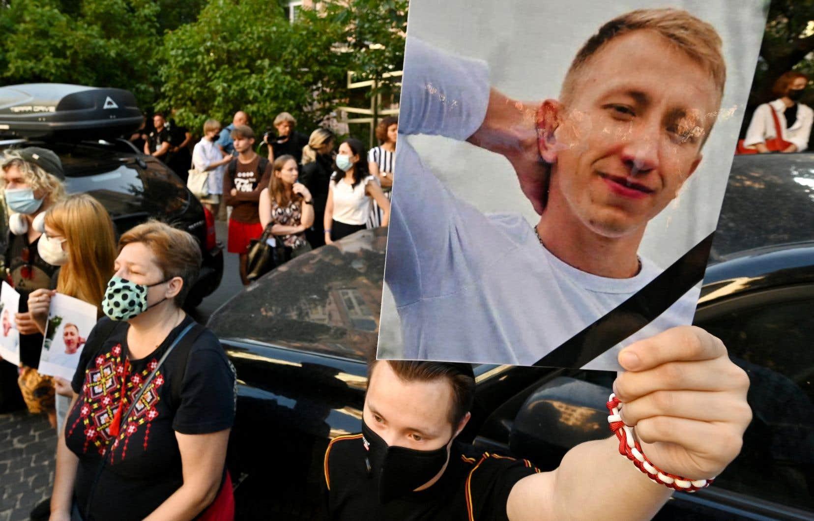 VitaliChychov, 26 ans, était sorti faire un jogging à Kiev lundi matin, mais n'est jamais revenu.