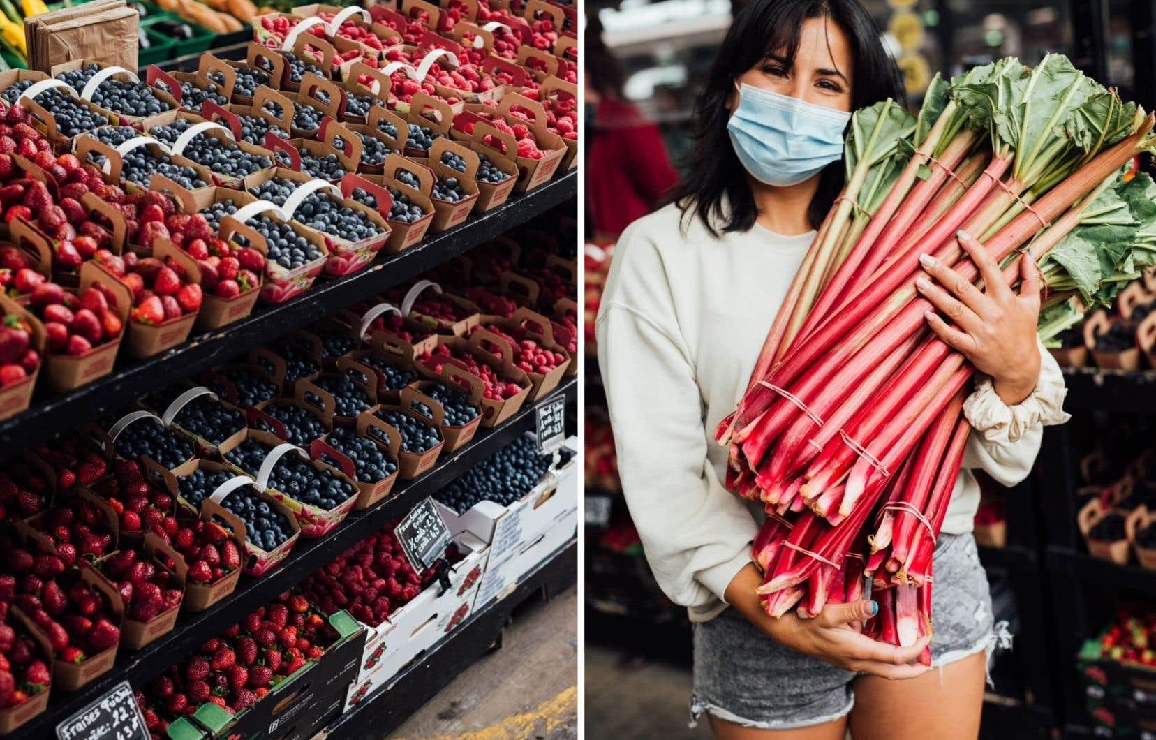 «Ce sont souvent les petits commerçants comme nous qui font découvrir de nouveaux produits avant qu'ils se retrouvent à l'épicerie», explique France Bisson, copropriétaire de la ferme René Lussier.