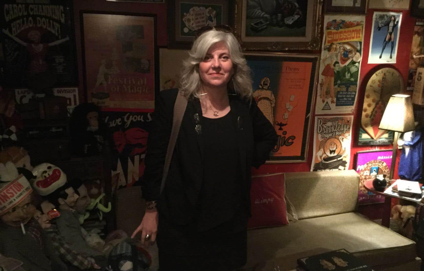 Kier-La Janisse, réalisatrice du documentaire, autrice et programmatrice dans plusieurs festivals