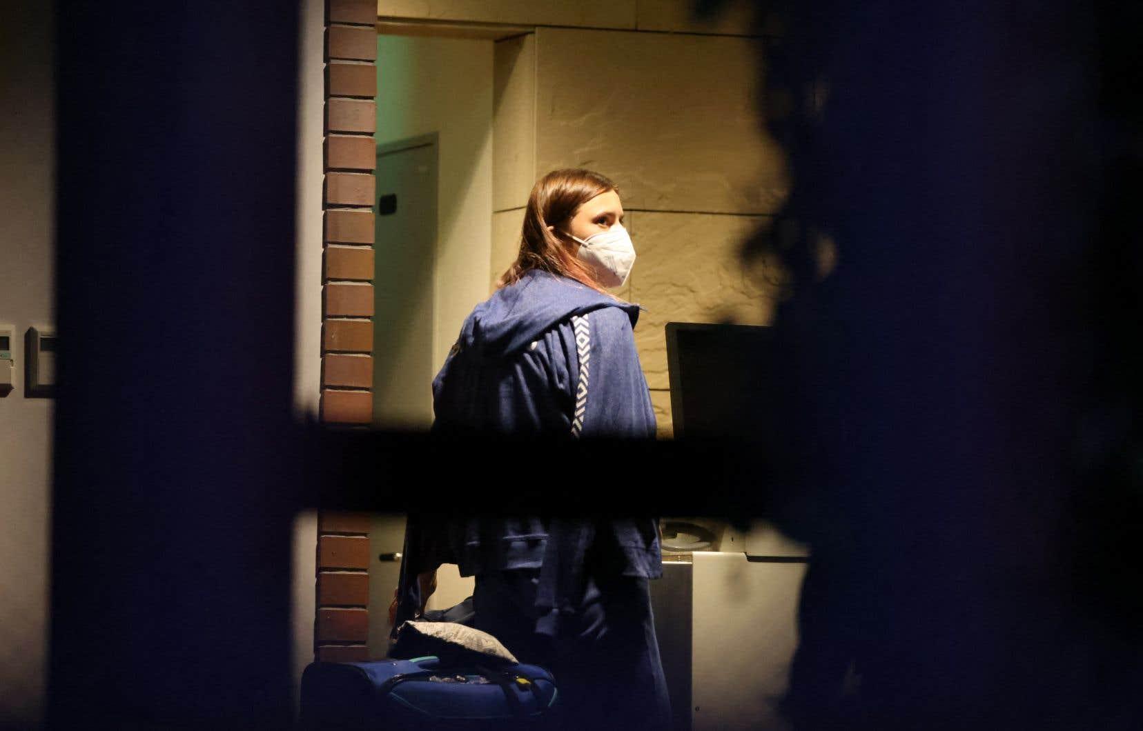 La sprinteuse Krystsina Tsimanouskaya s'est réfugiée lundi à l'ambassade polonaise à Tokyo.