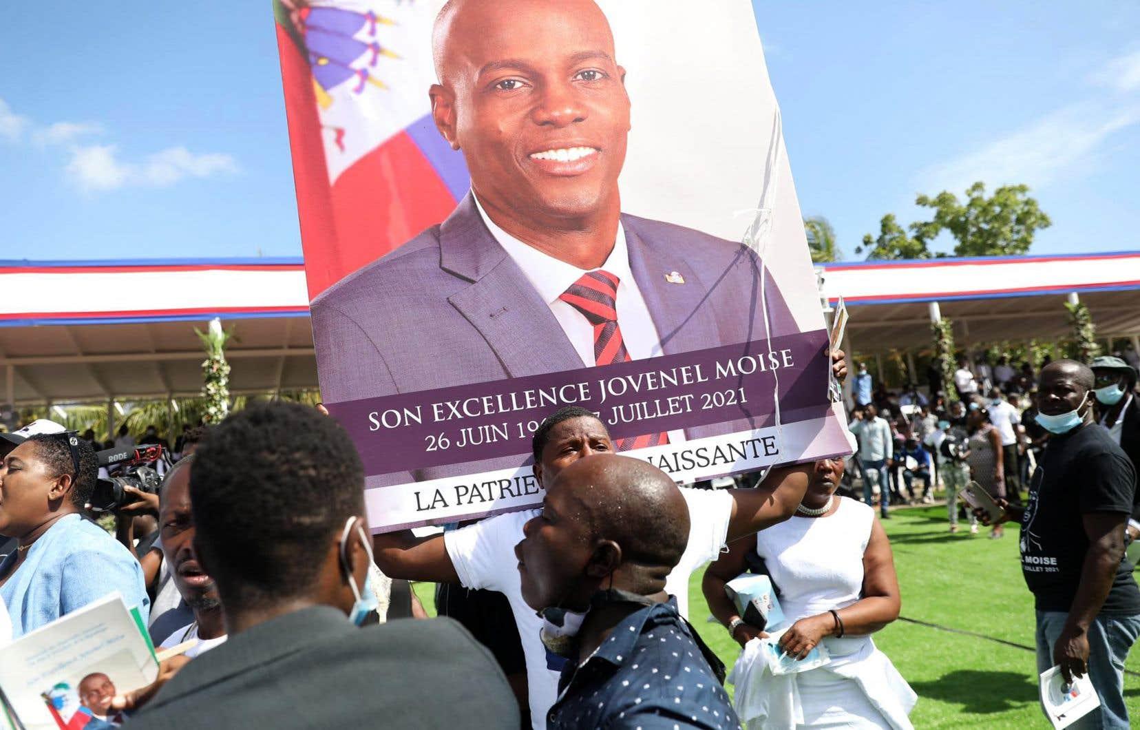 Le président haïtien Jovenel Moïse a été assassiné dans sa résidence privée par un commando armé, le 7 juillet dernier.