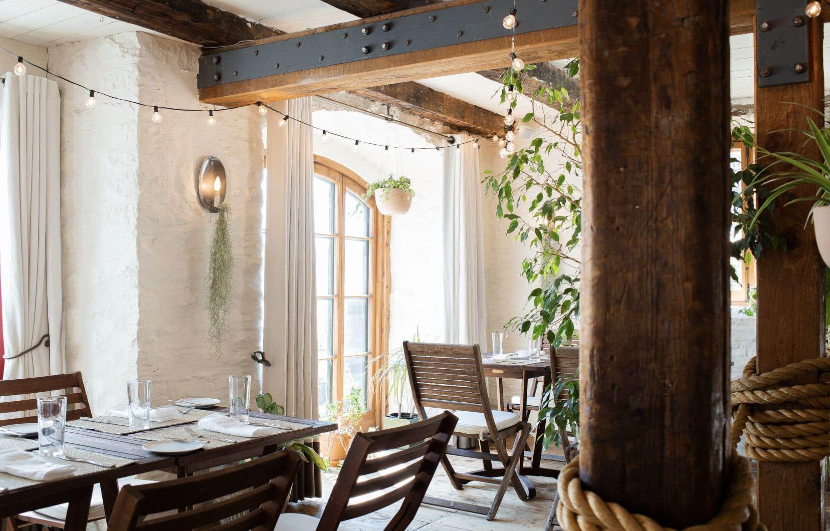 Le restaurant éphémère Au Jardin Chez Muffy