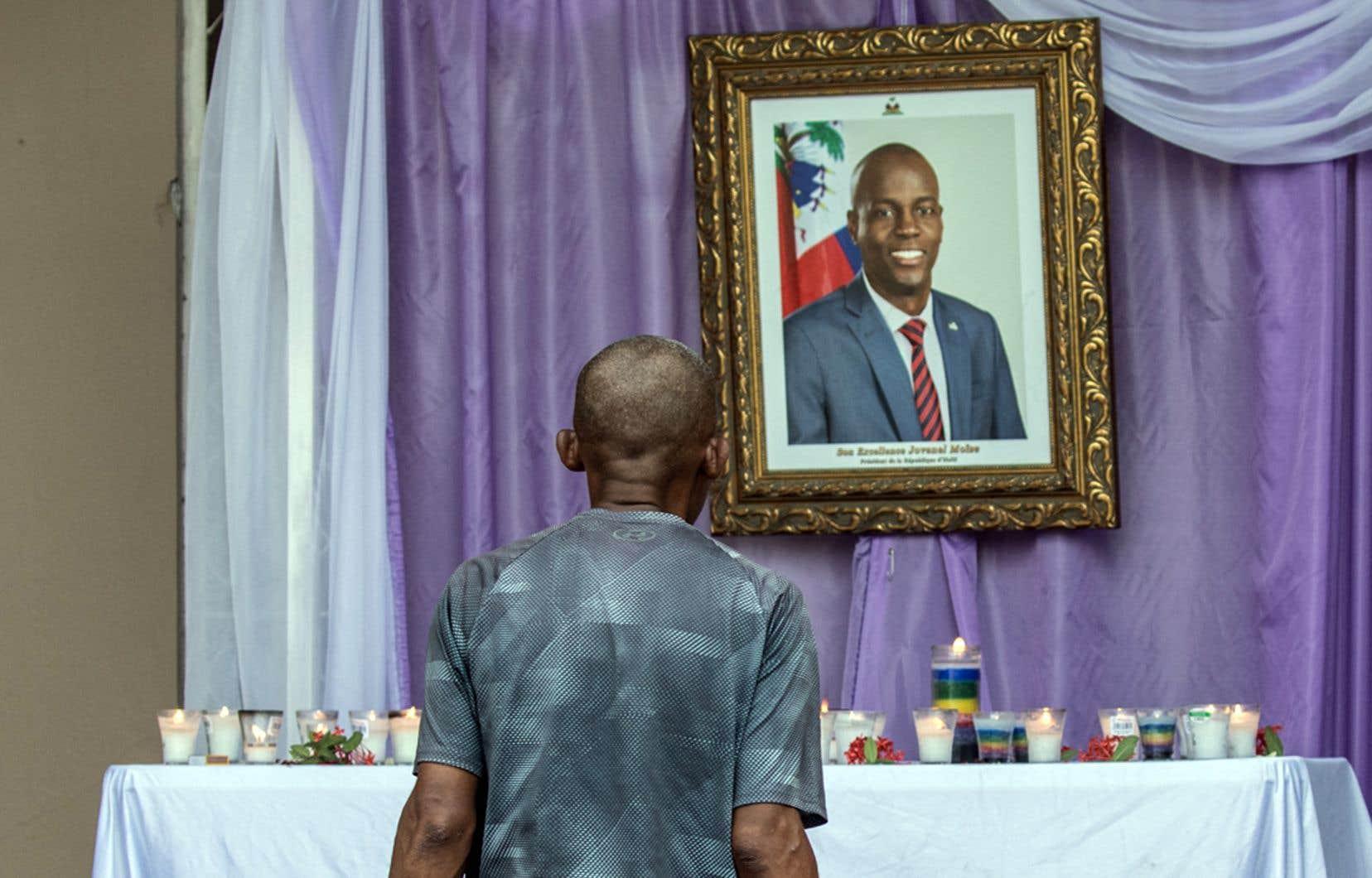 Le mystère perdure autour de l'assassinat du président Jovenel Moïse, abattu chez lui le 7juillet par un commando armé.