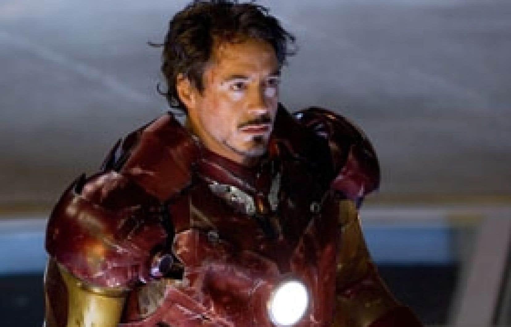 Paramount Pictures Un rôle improbable pour Robert Downey Jr., mais l'acteur relève le défi avec talent.