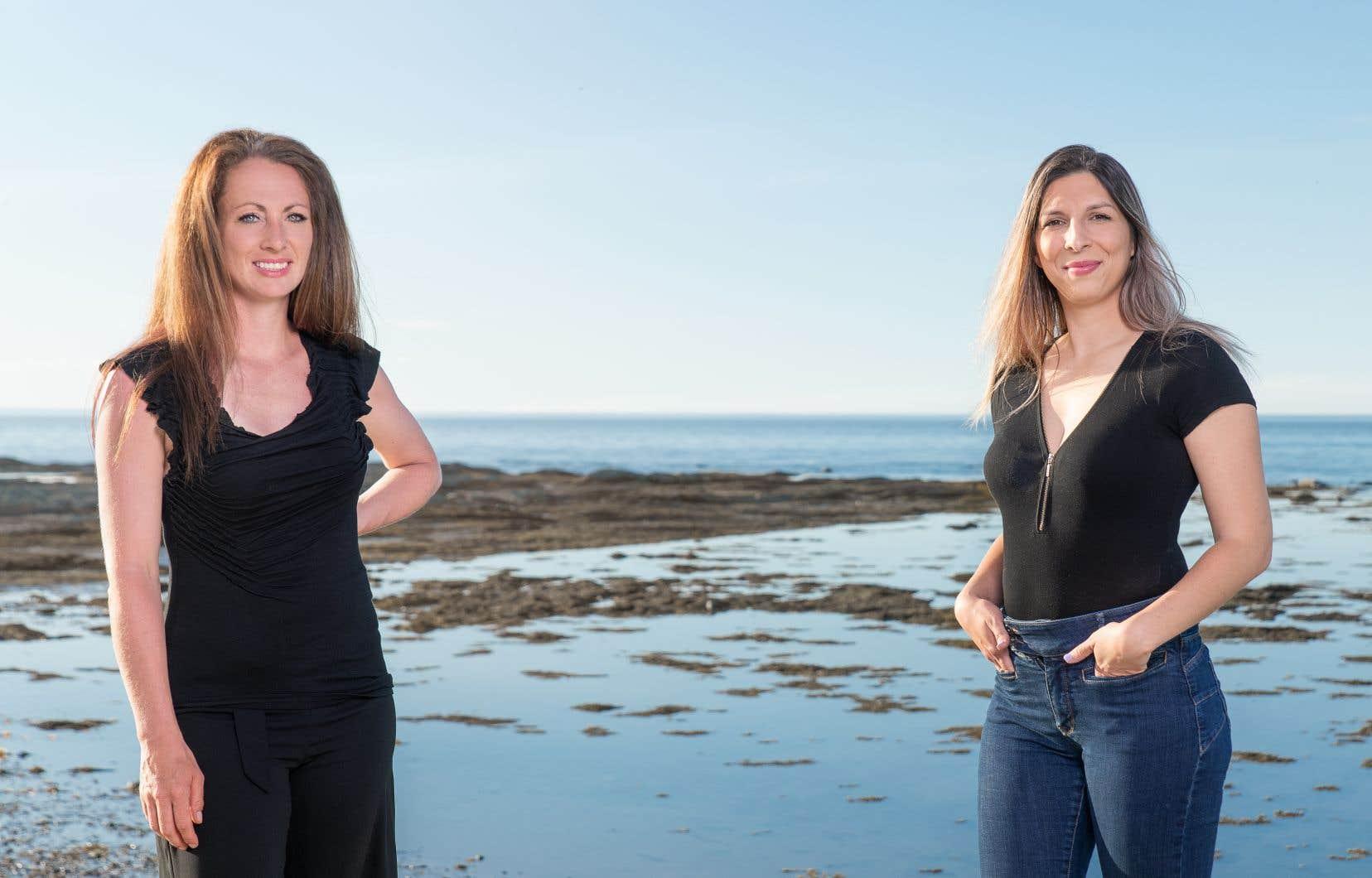 La propriétaire du ranch Bisons Sur Mer, Nancy Pouliot, et la restauratrice Manon Cambefort, illustrent bien le point de départ du regroupement Yoke, qui vise notamment à soutenir l'économie locale.