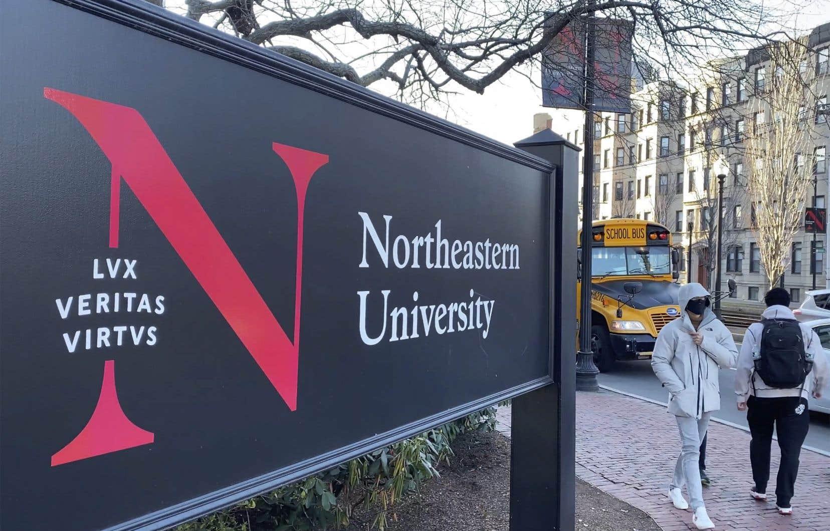 L'Université Northeastern est basée à Boston, au Massachusetts.