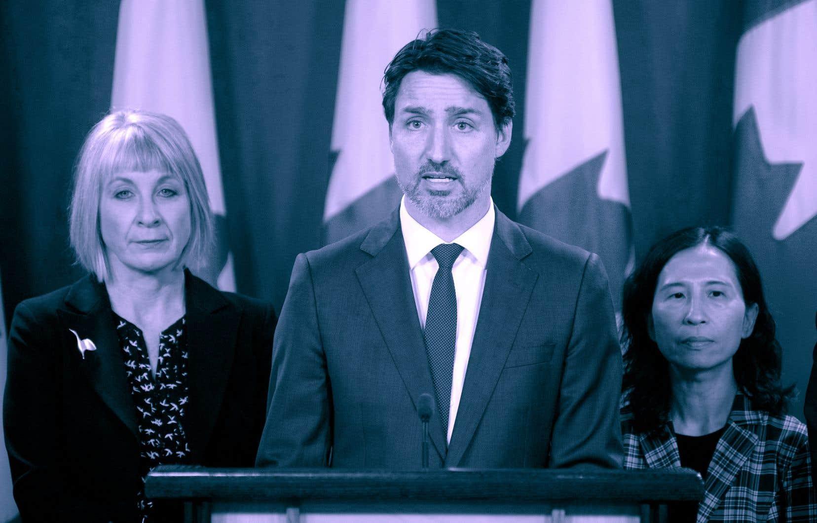 Le 11 mars 2020, Justin Trudeau a annoncé la création d'un fonds d'un milliard de dollars pour aider les provinces à traverser la crise de la COVID-19.