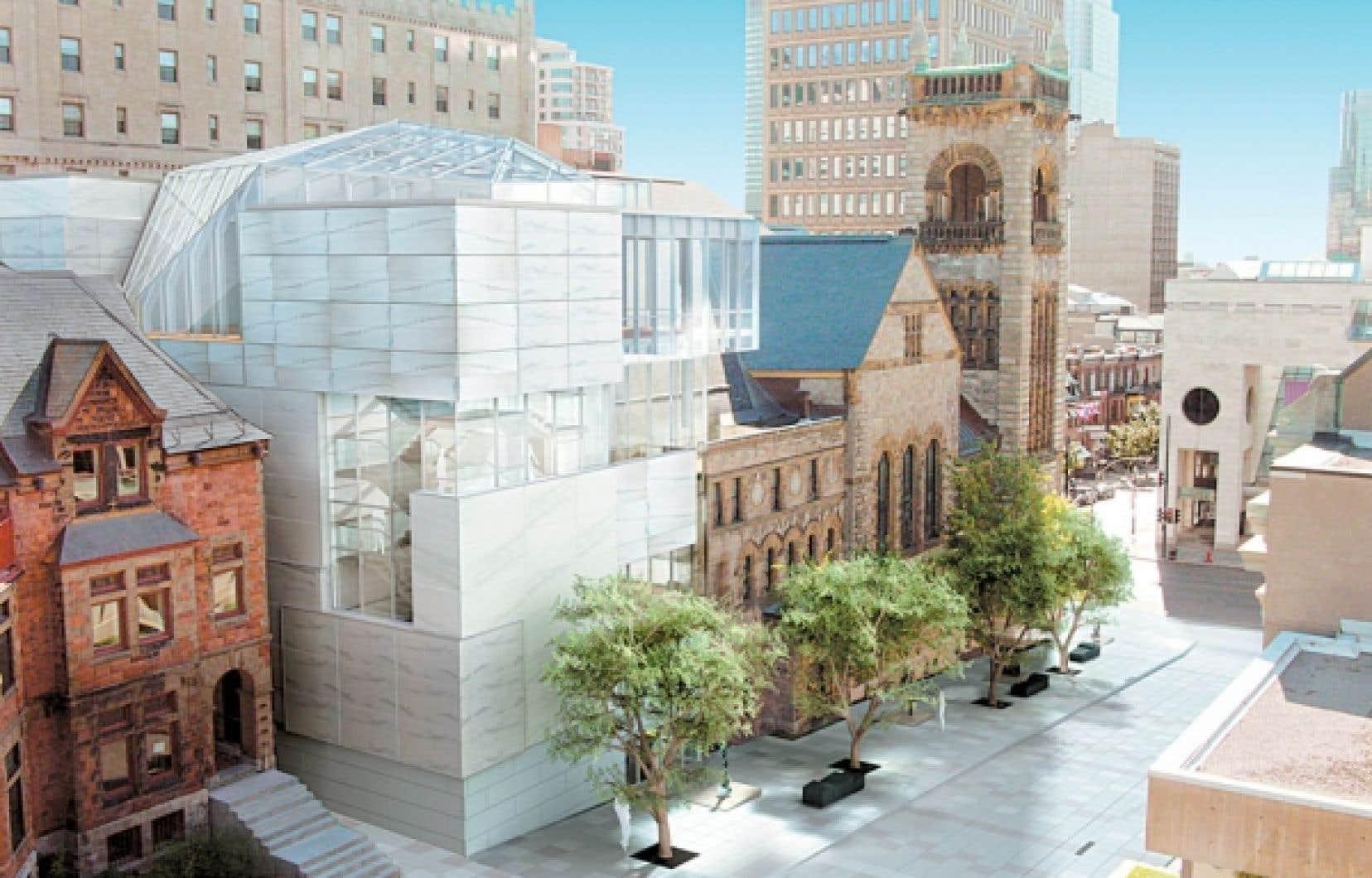 Pavillon Claire et Marc Bourgie du Musée des Beaux-Arts de Montréal