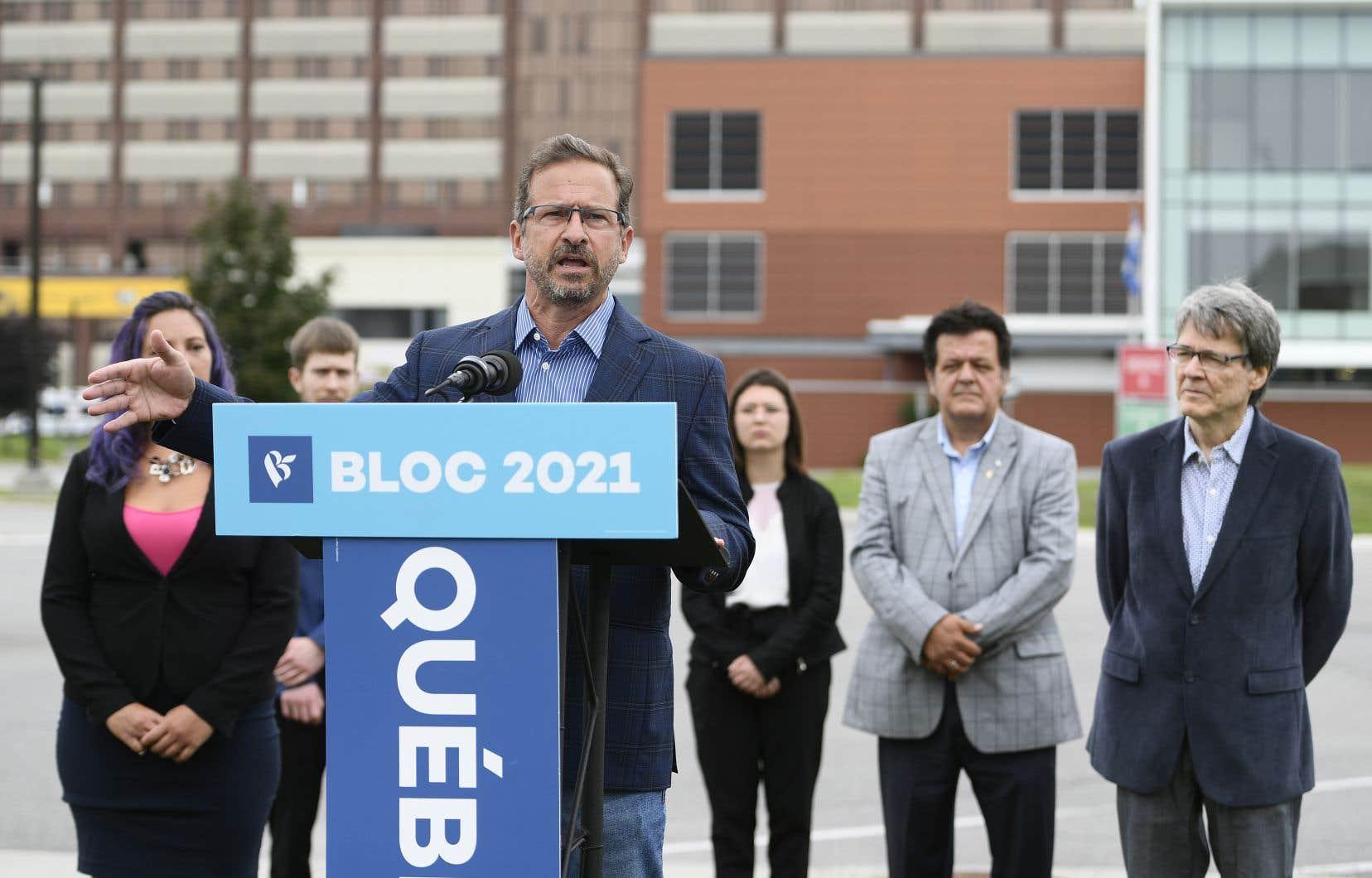 Le chef du parti, Yves-Francois Blanchet, a notamment déploré, une nouvelle fois, le manque de coordination entre Ottawa et Washington dans la gestion de leur frontière terrestre commune.