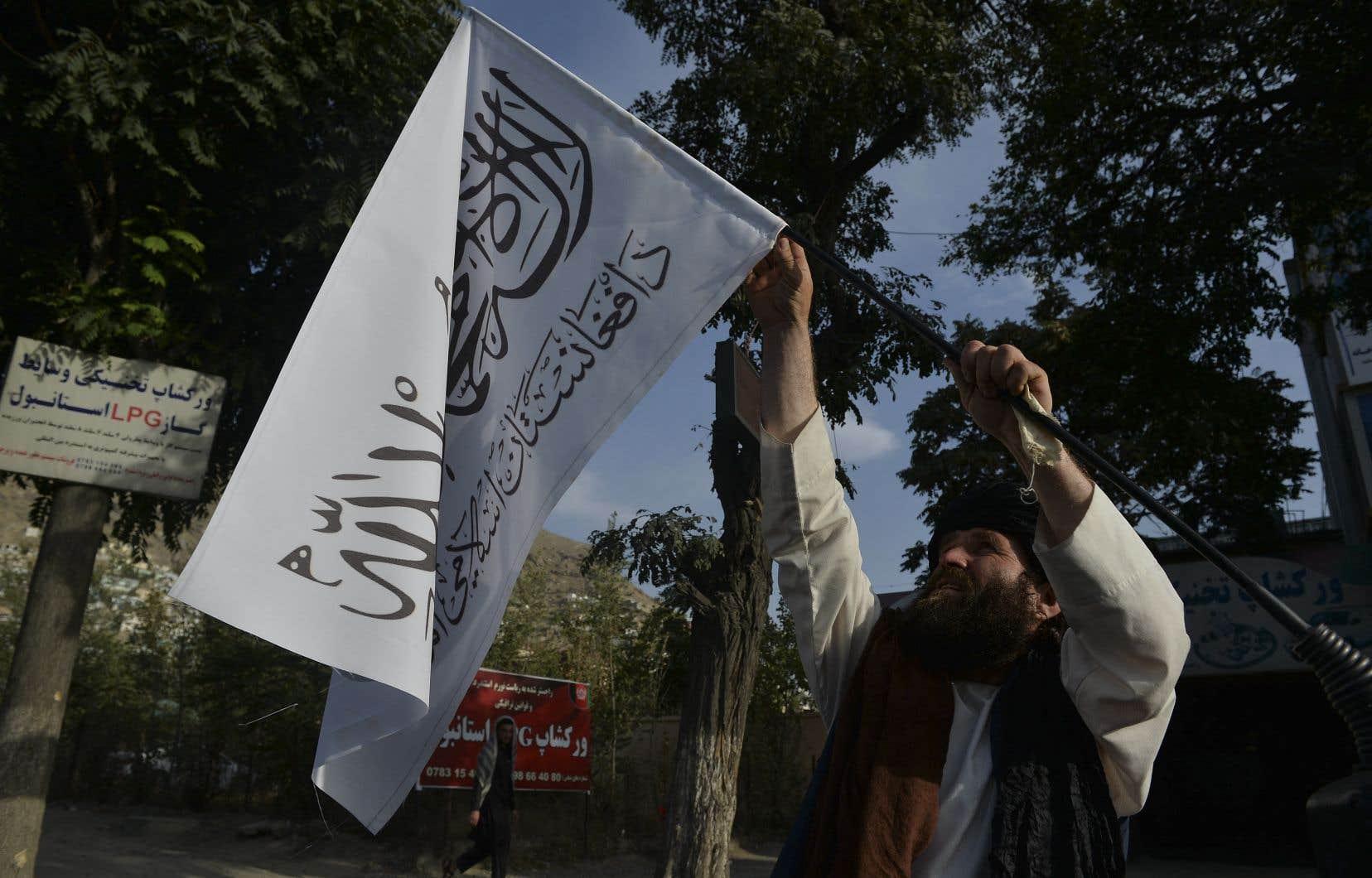Les talibans sont entrés le 15août à Kaboul sans rencontrer de résistance, à l'issue d'une offensive éclair entamée en mai à la faveur du début du retrait des forces américaines et de l'OTAN.