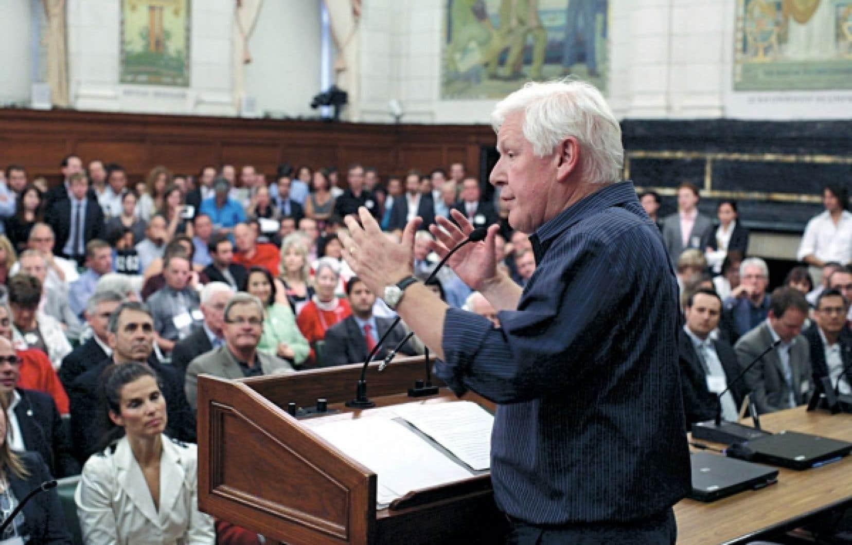 Le chef intérimaire du Parti libéral, Bob Rae, a été clair: il faut reconstruire le parti.