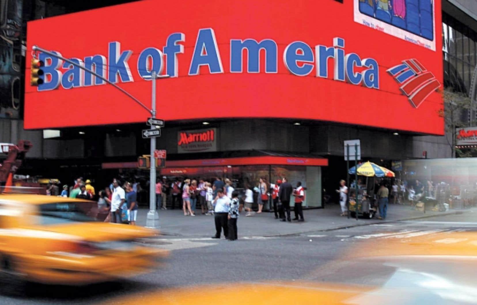 Merrill Lynch et Bank of America auraient provoqué des pertes de 30,85 milliards.<br />