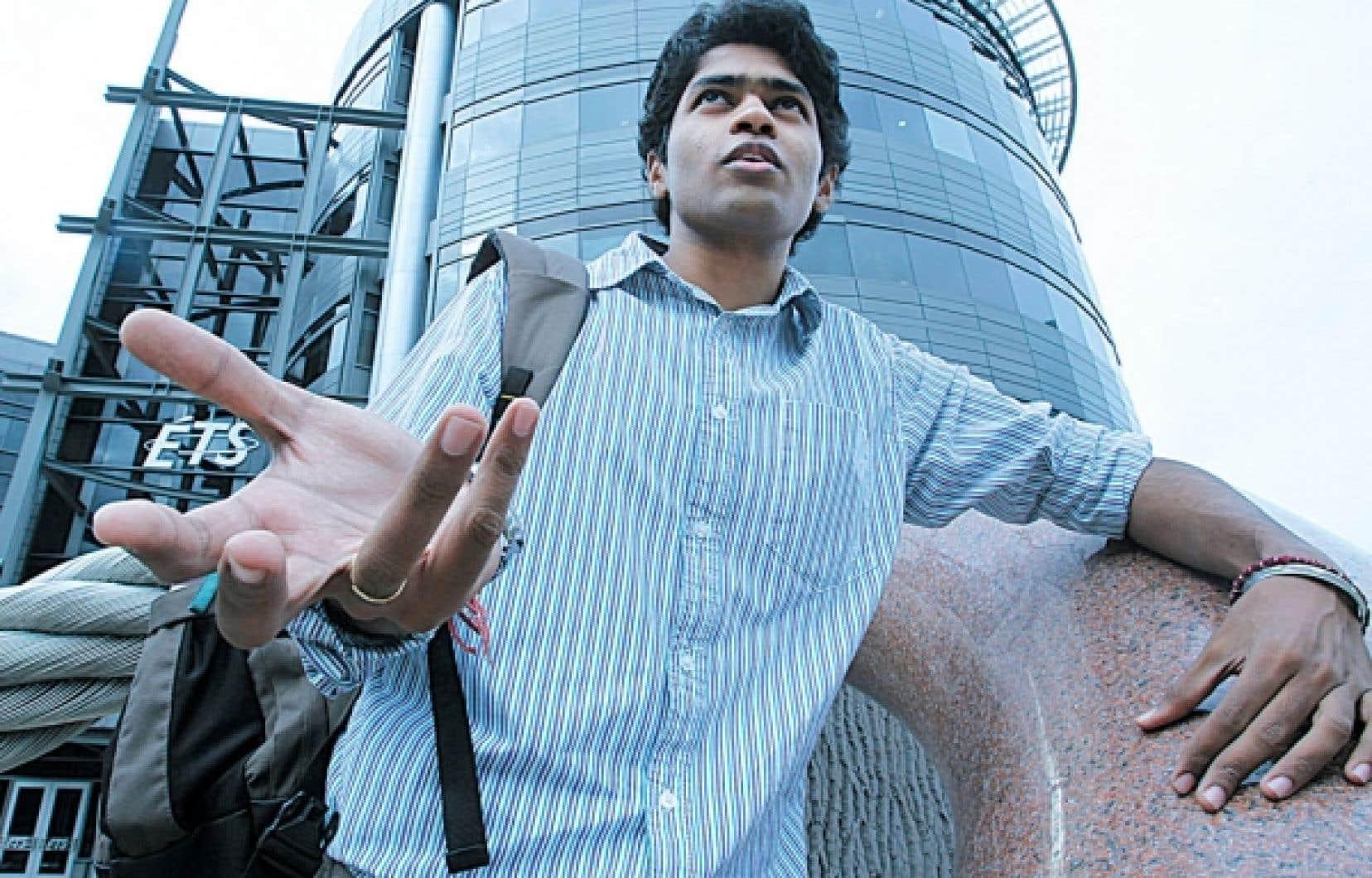 Brillant Indien de 22ans, VinayakVadlamani est venu cet été suivre un stage en milieu universitaire à l'École de technologie supérieure de Montréal. Il fait partie de ces «cerveaux» parmi les plus prometteurs de sa génération que s'arrachent les pays industrialisés partout dans le monde. Quoique saine, cette féroce compétition n'est pas sans soulever des enjeux éthiques concernant le recrutement des étudiants étrangers. Notre texte fait le point en pageA8.<br />