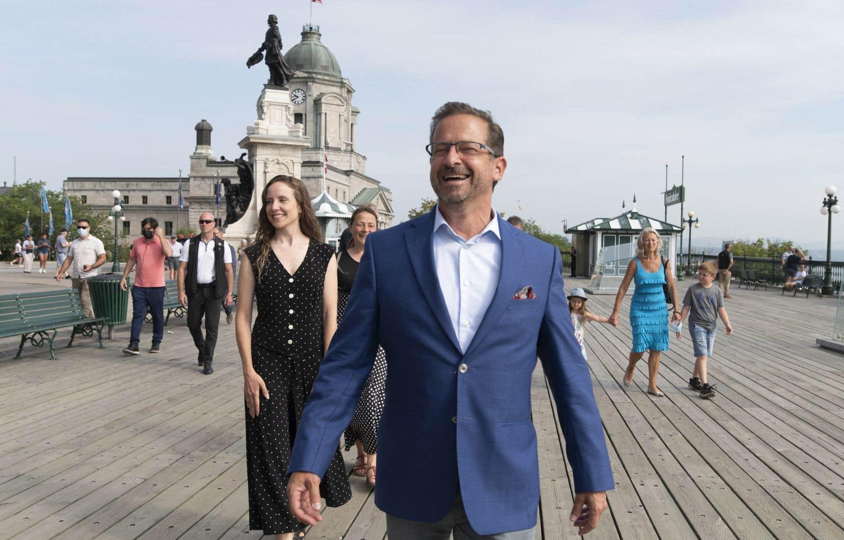Le chef du Bloc québécois a évoqué pour une seconde fois, mercredi, croire qu'un troisième lien «a un potentiel de contribution positive en matière d'environnement, notamment pour éviter un nombre important de véhicules faisant un important détour».