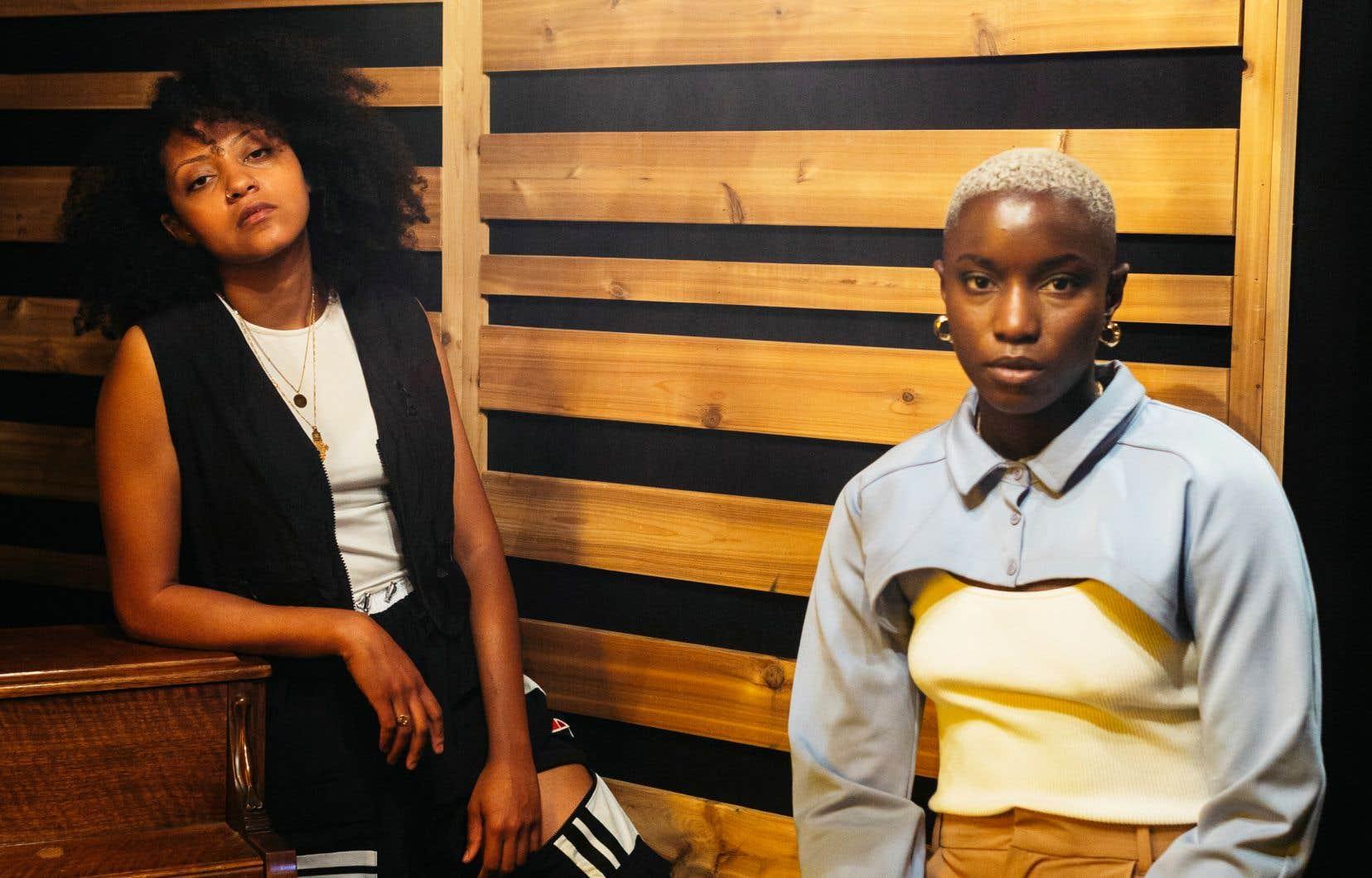 Les albums des rappeuses Naya Ali (à gauche) et Sarahmée témoignent du parcours de musiciennes arrivées à maturité sur les plans du texte, de la réflexion, du message et de la production.