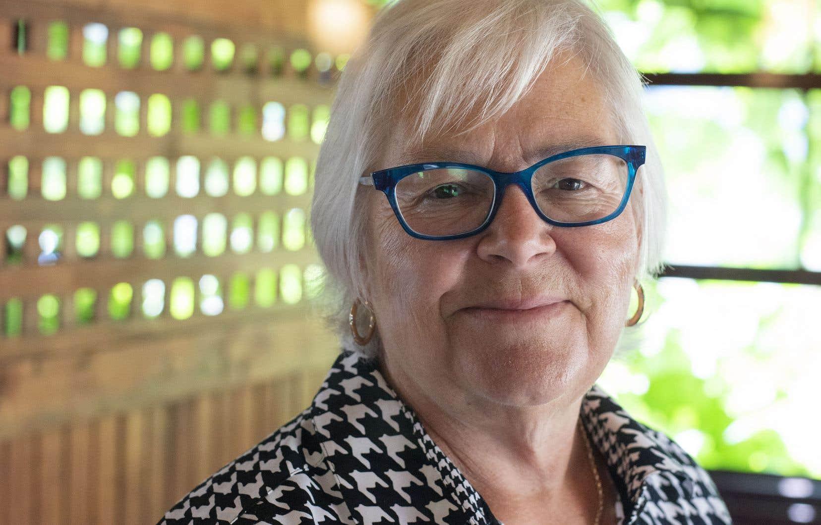 Louise Imbeault, présidente de la Société nationale de l'Acadie