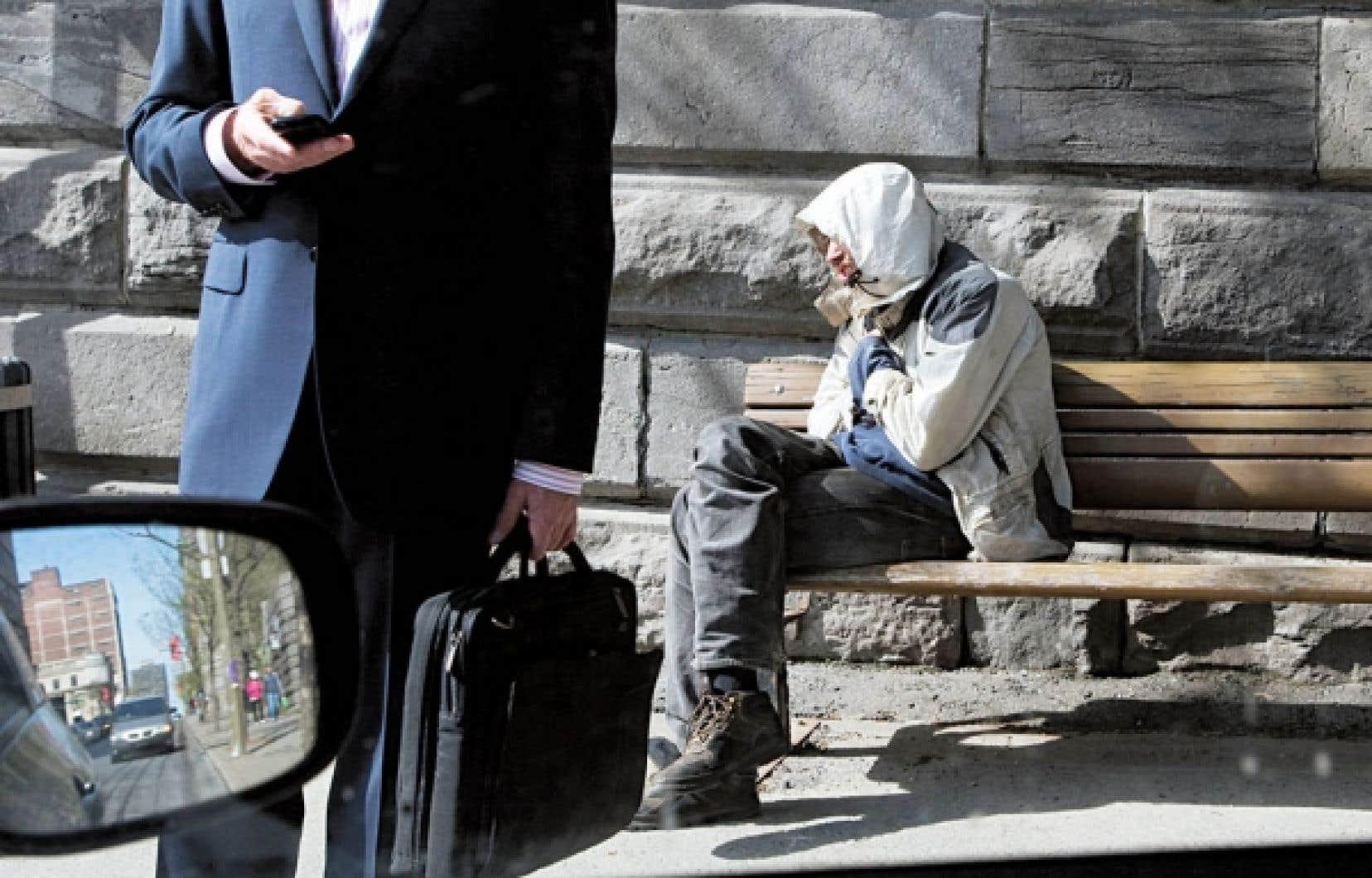 Les dirigeants politiques ne semblent pas préoccupés par l'accroissement des inégalités.