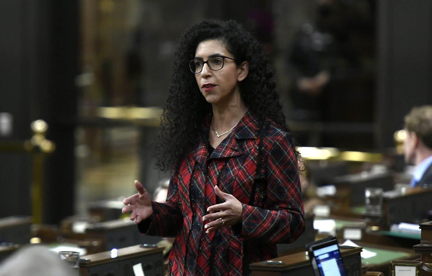 Sa déclaration «ne peut qu'être qualifiée de mensonge pur et simple», a dénoncé Rachel Bendayan, la candidate libérale dans Outremont, lors d'un point de presse.