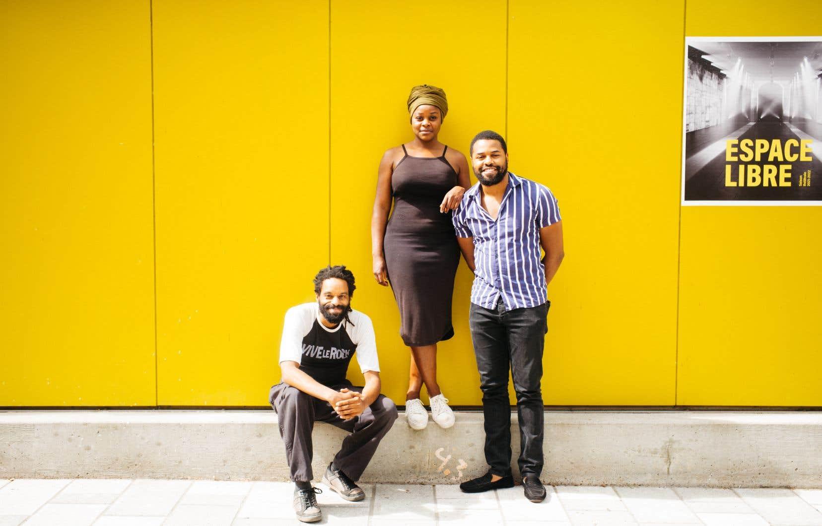 Philippe Racine, Tatiana Zinga Botao et Lyndz Dantiste signent la mise en scène de la pièce «Qui veut la peau d'Antigone?»