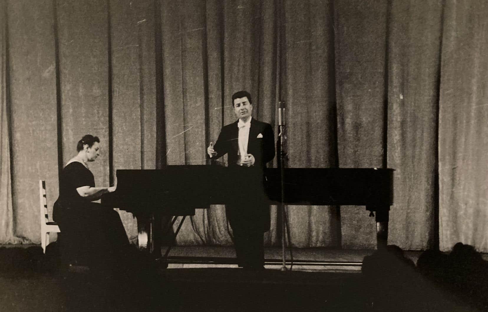 Jean-Paul Jeannotte et Jeanne Landry lors de leur tournée en URSS