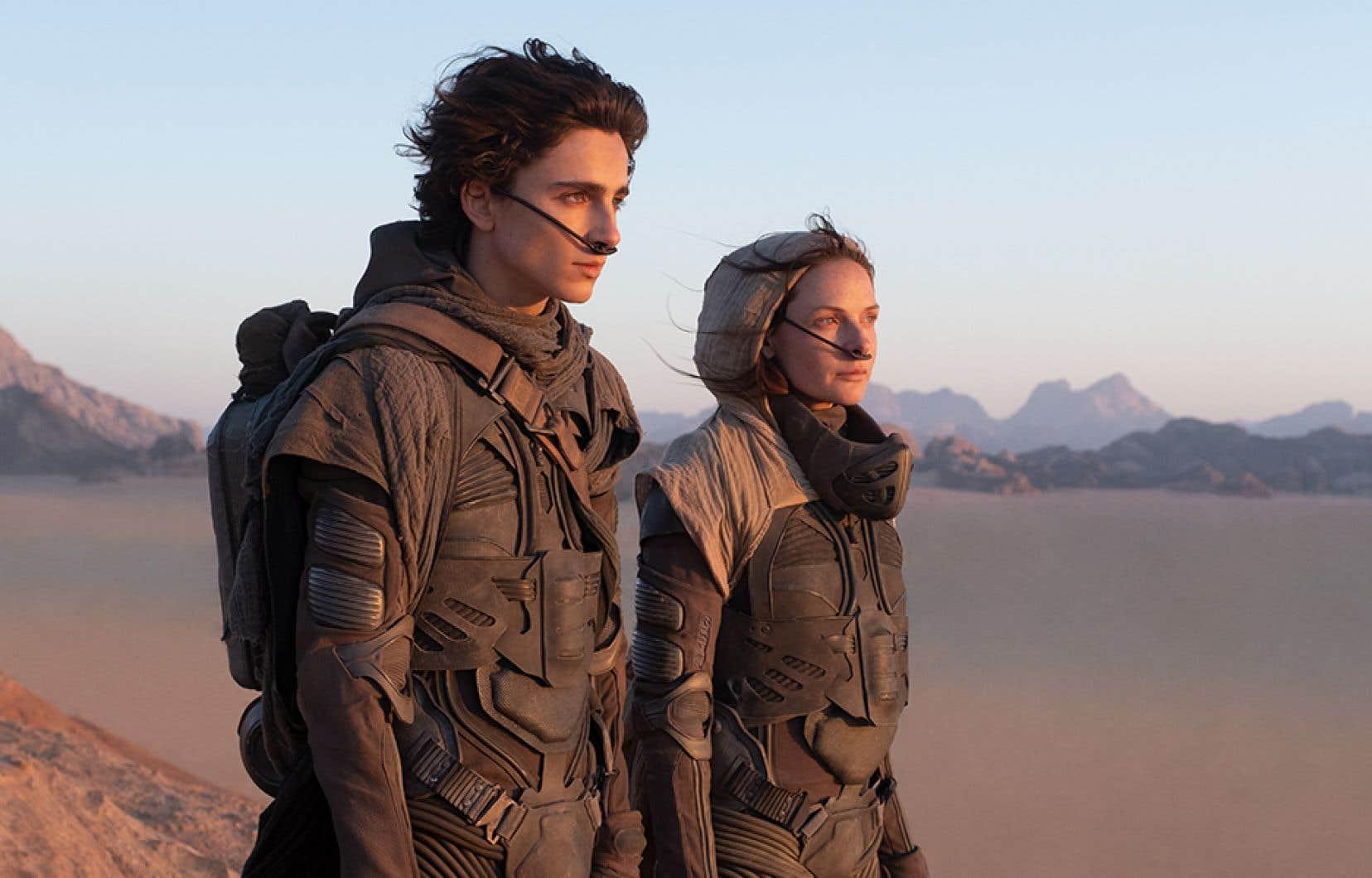 «Dune» est un tel événement planétaire qu'à Paris, un mini-festival lui sera consacré les 18 et 19septembre, avec conférences, projections, et débats. Le cinéaste québécois n'a pas fini d'en parler jusqu'à sa sortie chez nous, le 22octobre.