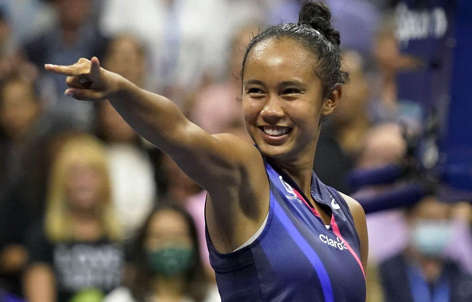 Leylah Fernandez était classée au 73e rang mondial au début du tournoi, mais a démontré un aplomb digne des joueuses les plus expérimentées du circuit féminin.