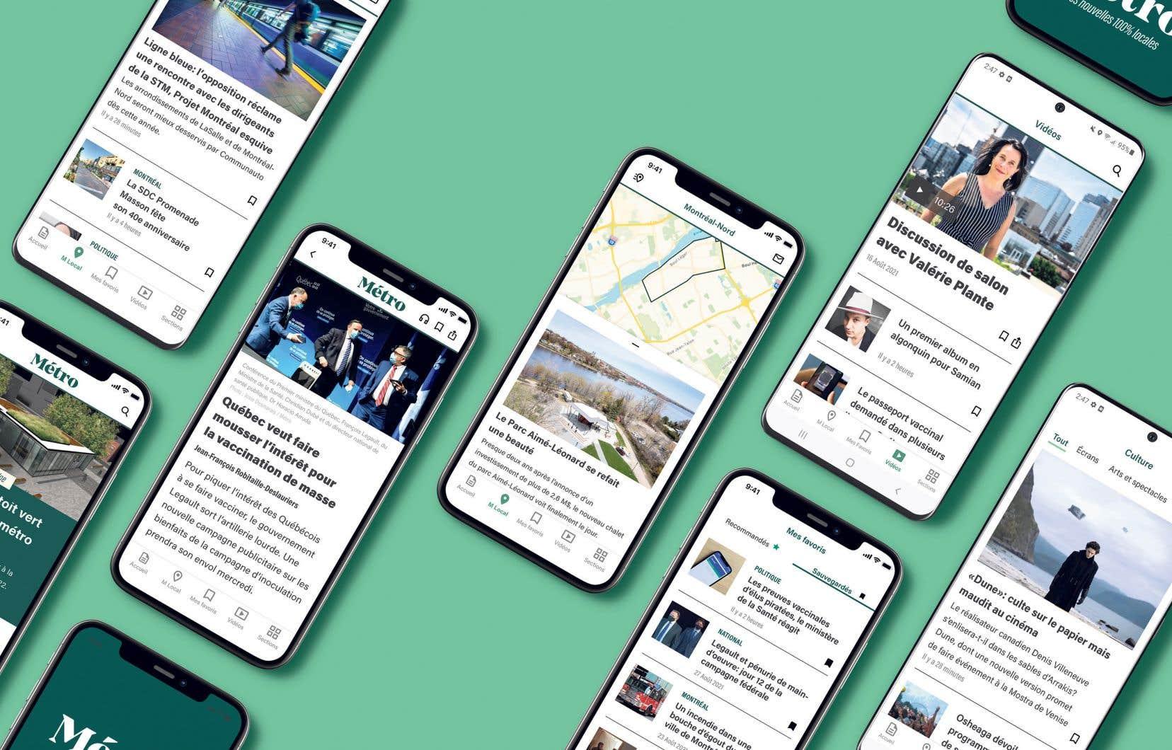 Pour atteindre les millénariaux, Métro Média a accéléré son virage numérique. Les contenus journalistiques ont été adaptés au format numérique. On trouvera ainsi davantage de nouvelles sous forme d'infographies, de vidéos courtes ou encore de photoreportages, et un site Web rafraîchi.