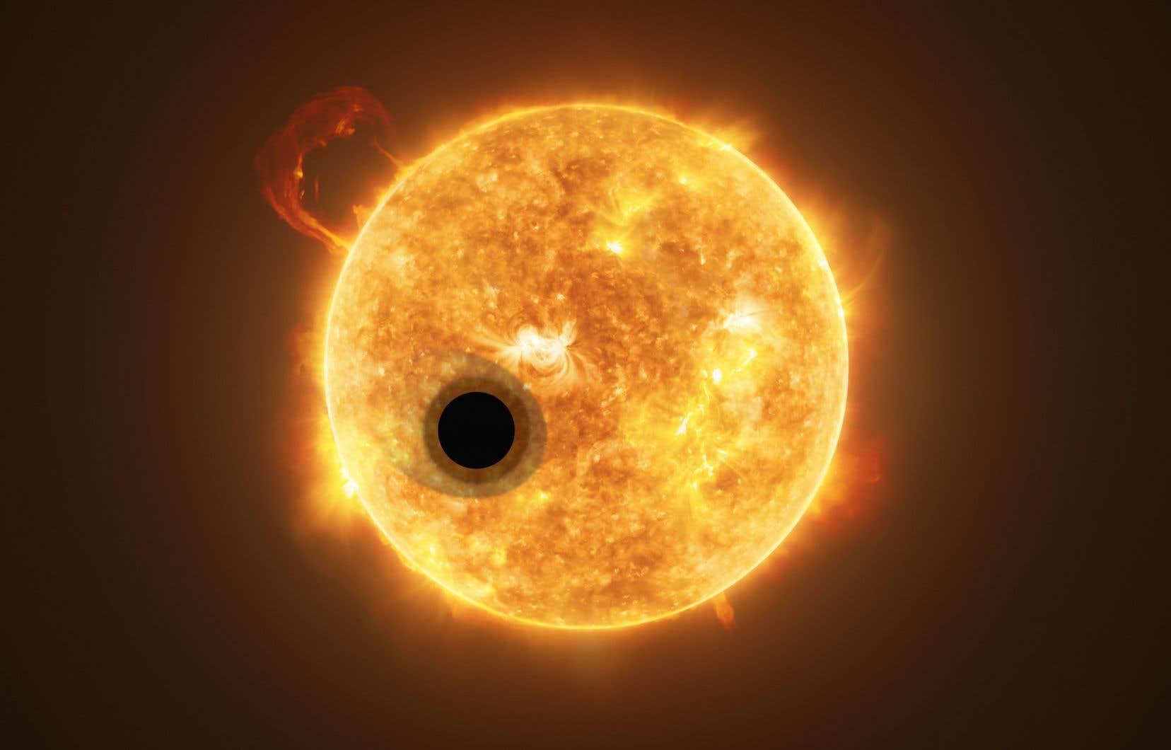 L'exoplanète WASP-107b fascine les experts par son incroyable proximité avec son étoile, notamment.