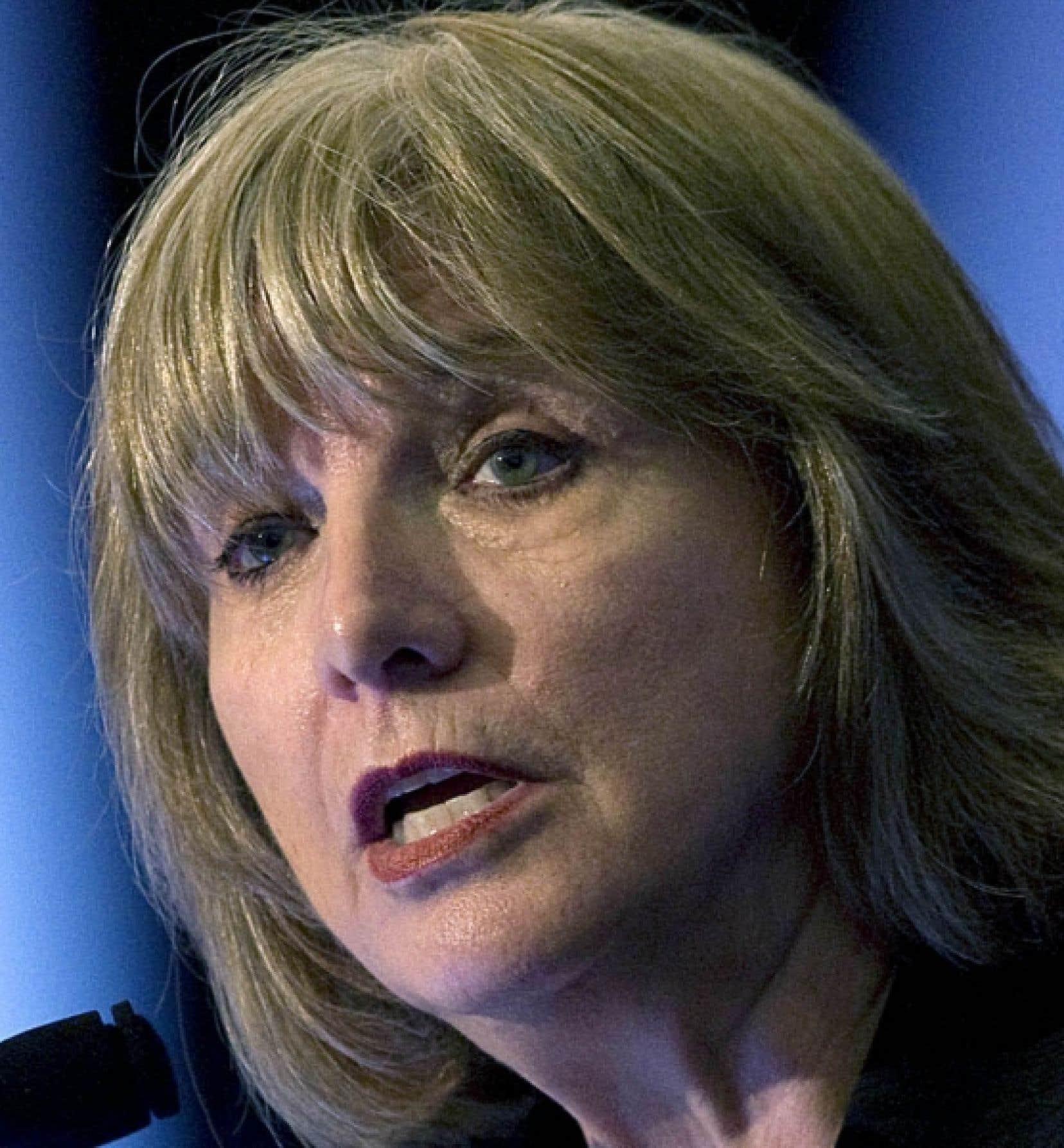 Les fraudes sont plus ardues avec les PPP, soutient Monique Jérôme-Forget.<br />