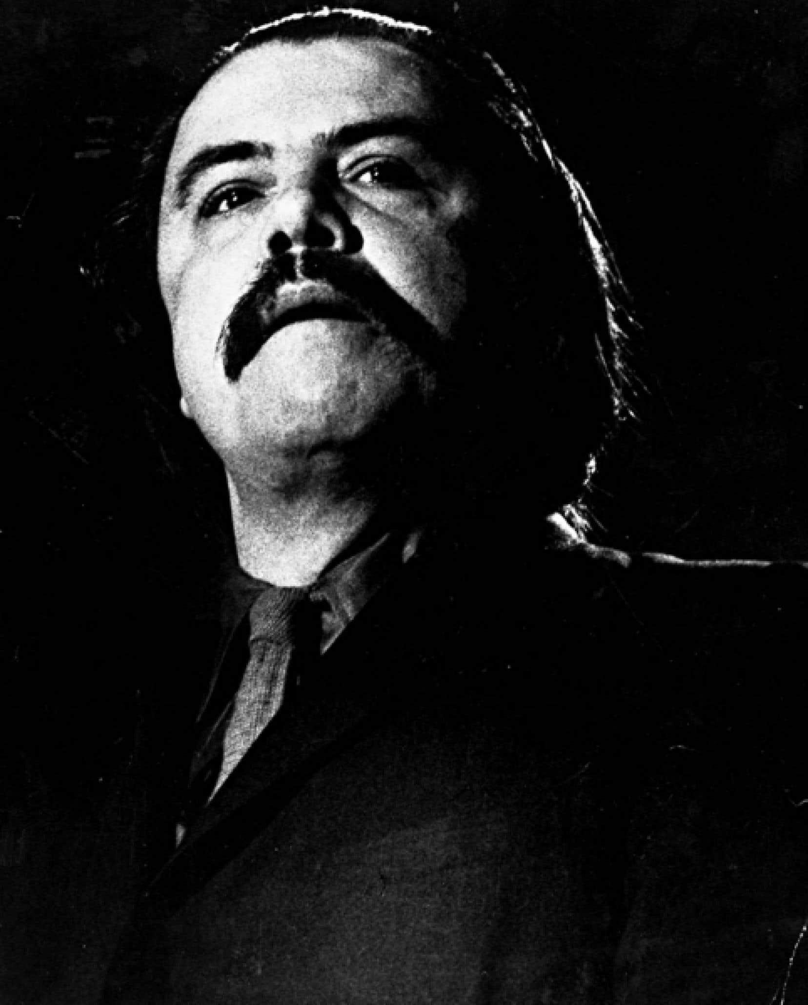 Le poète et dramaturge Claude Gauvreau<br />