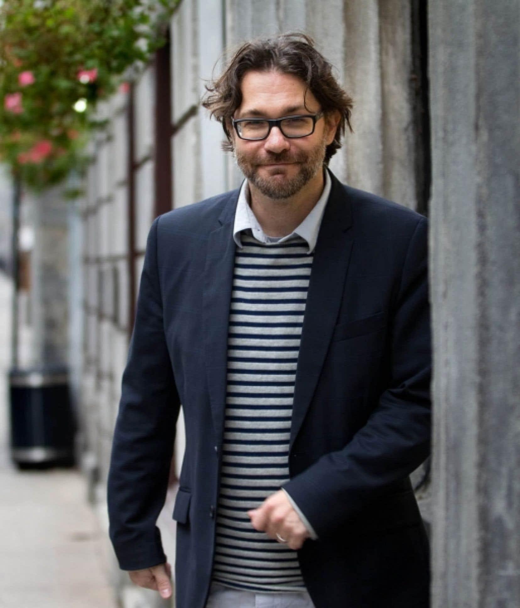 Psychanalyste et écrivain, Maxime-Olivier Moutier dit vouloir «chercher ce qui fait souffrir les gens». <br />