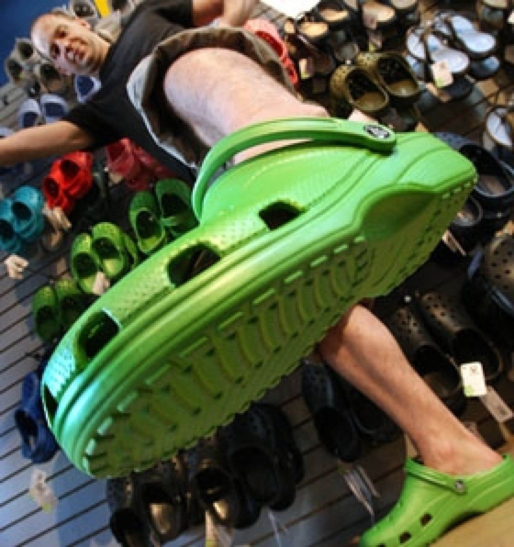 najniższa cena niskie ceny wykwintny styl Crocs: après le rêve québécois, le choc | Le Devoir
